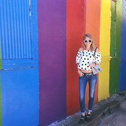 Susanne Bender -  - Colourful Streetstyle in Houston!