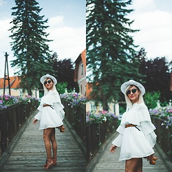 Ana Maria Oprea - Asos White - Summer dress / anamariaoprea.com