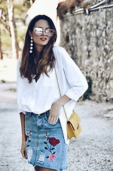 Rebeca LookForTime - Zara Shirt - WHITE SHIRT