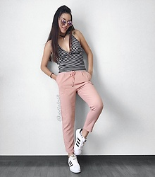 Erika Fuka - Adidas Shoes - Pinky