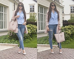 Feather P - Stradivarius Shirts, Stradivarius Jeans, Mohito Bag - Summer