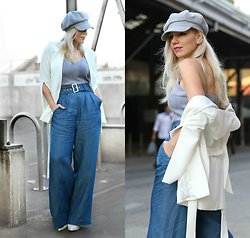 Scarlett Vargas - Asos Jacket, Asos Pants - Transitional