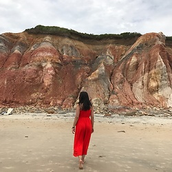 Melissa De Leon - Lou & Grey Red Jumpsuit - Red Jumpsuit