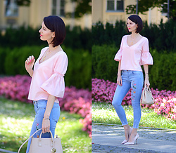 Daisyline . - Furla Bag, Zara Jeans, Reserved Top - Hello July! / www.daisyline.pl
