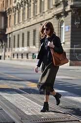 Monika Tremski - Zara T Shirt, Yoshop Skirt, Romwe Boots - Welcome to my wardrobe