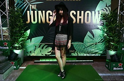 Verónica MG - Sammydress Black Kimono - The Jungle Show || Heineken The House