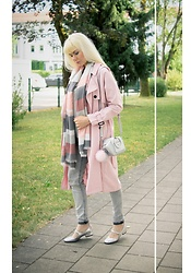 Maria R -  - Pink Trench Look No. 4
