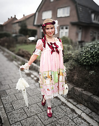 Liv Robroek - Baby, The Stars Shine Bright Recepe For Endless Dream - 20ies Flapper Girl x Lolita Coord