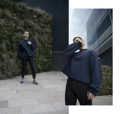 Gerard Molón - Cos Trousers, Raey Sweater - CROPPED SWEATER