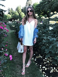 Fashion Sensored -  - Street Style Slip Dress