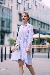 Sarah F - French Connection Uk Blouse Dress - Simple Summer Dress