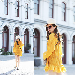 Maggie Chan - Yellow Dress - Stay Inspired