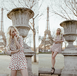 Sarah Loven - Réalisation Par Dress, Matisse Footwear Shoes - Tower Eiffel
