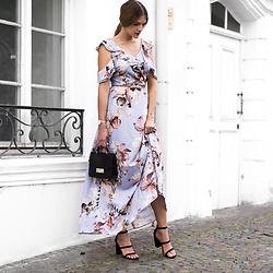 Catherine V. - Dorothy Perkins Dress, Furla Bag, Dorothy Perkins Heels, Dorothy Perkins Pineapple Belt - What I would wear to a wedding
