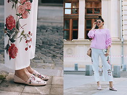 Diana Ior - Zaful Trousers, Zara Slippers, Stradivarius Sunglasses - Turned Loose