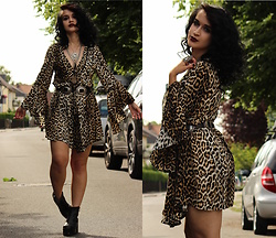 Tessa Diamondly - Kiss The Sky Leopard Dress - You make everything okay okay okay.