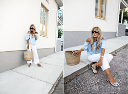 Sofia Lindqvist -  - CASUAL IN WHITE