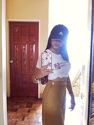 Makie Belmonte - H&M Culottes, Seiko Watch, Adidas Cap - Capture thy look