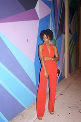 Sheyla Gomes - Lightinthebox Jumpsuit - LADY IN RED