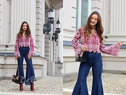 Ranim H. - Ivy Revel, Zara, Pinko - 70s in my heart