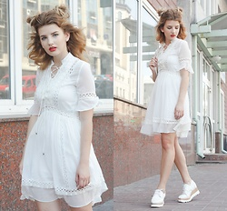 Vladyslava Kozachyshche - Metisu Dress, Sofab Dress Shoes, Slavno Backpack - 2 Cute For U