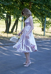 Kamila Krawczyk - Shein Dress, Rosegal Bag - Cinderella