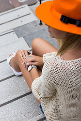 The Blonde Bliss - Cluse Watch, The Blonde Bliss Hat, More Details On - Orange is a new black