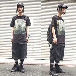 @KiD - (K)Ollaps Noise Music, Converge Jane Live, Elephant Tribal Fabrics D Can Back Pac, Code Crust Wide Shorts, Puma Mcq, Funk Plus Studs Bracelet - Japanese Trash175