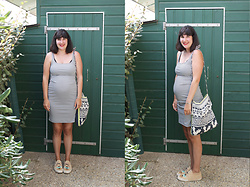 Appelle-moi Mrs CoOp3r - Zara Dress, Dolfie Baskets - Les petites rayures