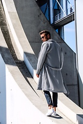 Lucca B. - Asos Shoes, Drykorn Coat, Superdry Pants, Komono Sunglasses - Coat style