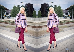 Maria R - Guess Bag, Zara Shoes - Pre-Autumn Office Look