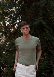 Georg Mallner - Zara Tshirt, Asos Pants - August 31, 2017