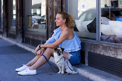 The Blonde Bliss - Superga Sneakers, The Blonde Bliss All Details On - Little furry friend