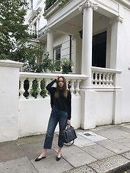 Lauren Woodward - Mango Jumper, Marks And Spencer Jeans, Chanel Shoes, Louis Vuitton Bag - Nearly autumn