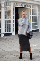 Joanne Christina Lewis - River Island Jumper, Chanel Bag - STRUGGLES WITH STYLING MY 18 WEEK BUMP