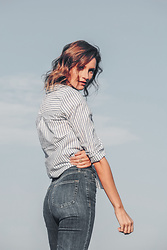 Alison Hutchinson - H&M Shirt, Topshop Jeans - The Perfect Shirt