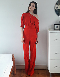 Georgia X - Chicme Jumpsuit - Infrared