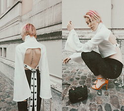 BEHINDHERMASK - Missguided Londunn Cut Out Tee - Les parisiennes