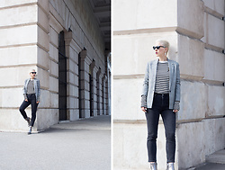 Borjana R. - Weekday Jeans - Checked blazer