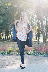 Aleksandra D - Lightinthebox Shirt, Levis - Lovely Day