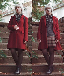 Inevelichka - Zara Two Button Masculine Coat, Vagabond Grace - Vampy Friday