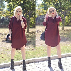 Cátia Gonçalves - Shein Dress, Jeffrey Campbell Shoes Boots - Where I really want to be It's already where I am