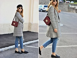 Tímea C - Zara Coat - Menswear pieces every woman should own