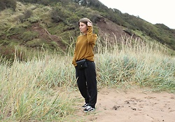 Angharad Jones - Cos Jumper, Zara Bag, Zara Trousers, Vans Trainers - The Belt Bag