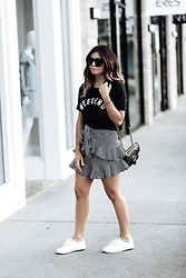 Flaunt and Center - Skirt - Ruffle skirt trend