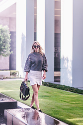 Susanne Bender - Gucci Dionysus Bag, Zara Pearls Swetare, Boohoo Skirt - That Gucci bag <3