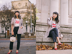 Kennie Cheng - New Look Tee, Roberto Vianni Shoes, Mango Bag, H&M Jeans - 01/11/2017