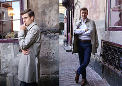 Grzegorz Paliś - Massimo Dutti Trench, Zara Shoes, Mango Shirt - Trench It!