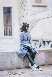 Nikita Wong - Stella Forest Grey Coat - Grey