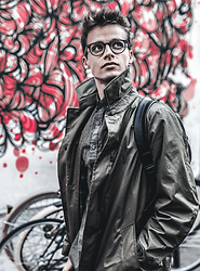 Anton Dee - Zara Coat, General Eyewear Glasses - London Greens